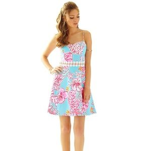 Lilly Pulitzer Lenore Lace Cut Out Sundress